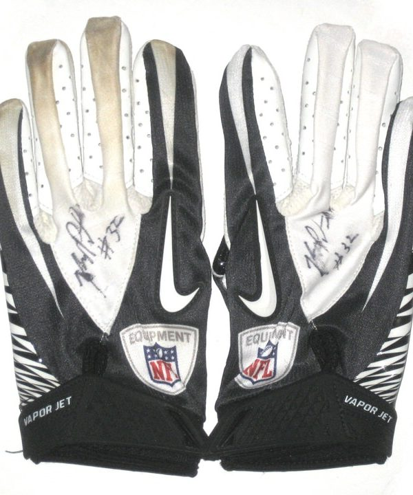 Johnny Patrick New Orleans Saints Game Worn Gloves