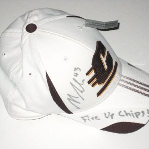 "Nick Bellore Autographed Central Michigan Chippewas Adidas Hat - With ""Fire Up Chips!"" Inscription!!!"