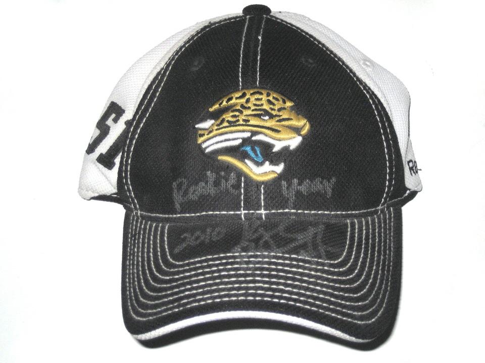 40d23616ca4 Kyle Bosworth Sideline Worn   Signed Official Jacksonville Jaguars  51 Reebok  Cap