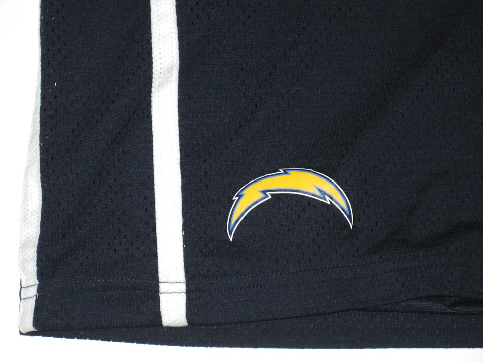 Alvin Scioneaux Training Camp Worn San Diego Chargers