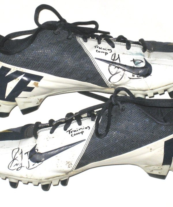 Greg Brown San Diego Chargers Training Camp Worn & Signed