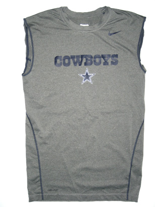 superior quality 9cbb1 0bc1f Kendial Lawrence Dallas Cowboys Training Camp Worn #28 Nike XL Shirt