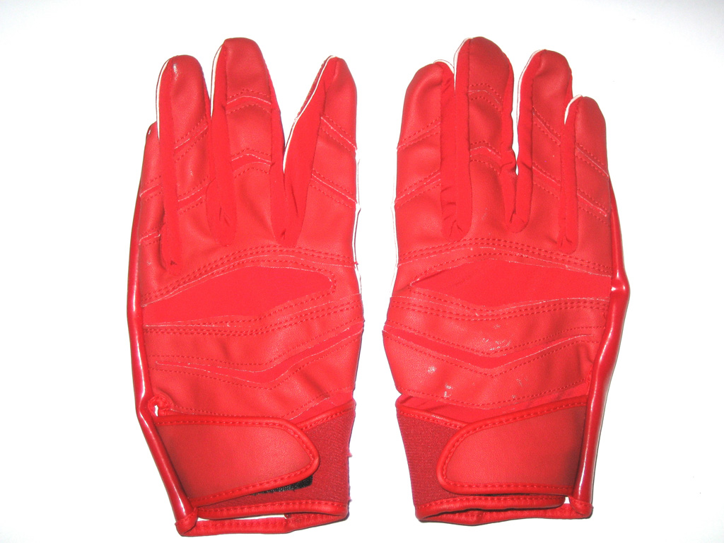 Cheap Red Cutters Football Gloves Buy Online Off45 Discounted