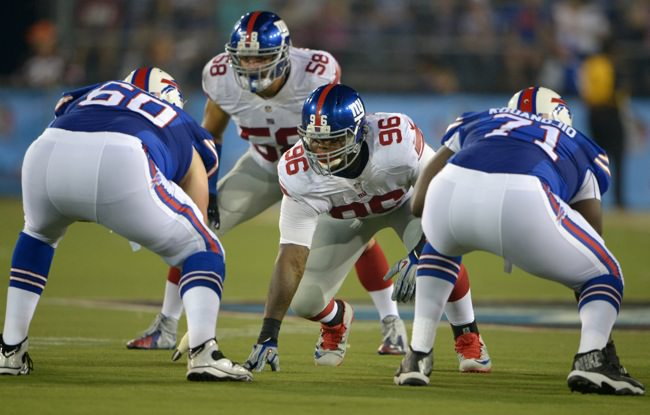 Jay Bromley New York Giants Rookie Game