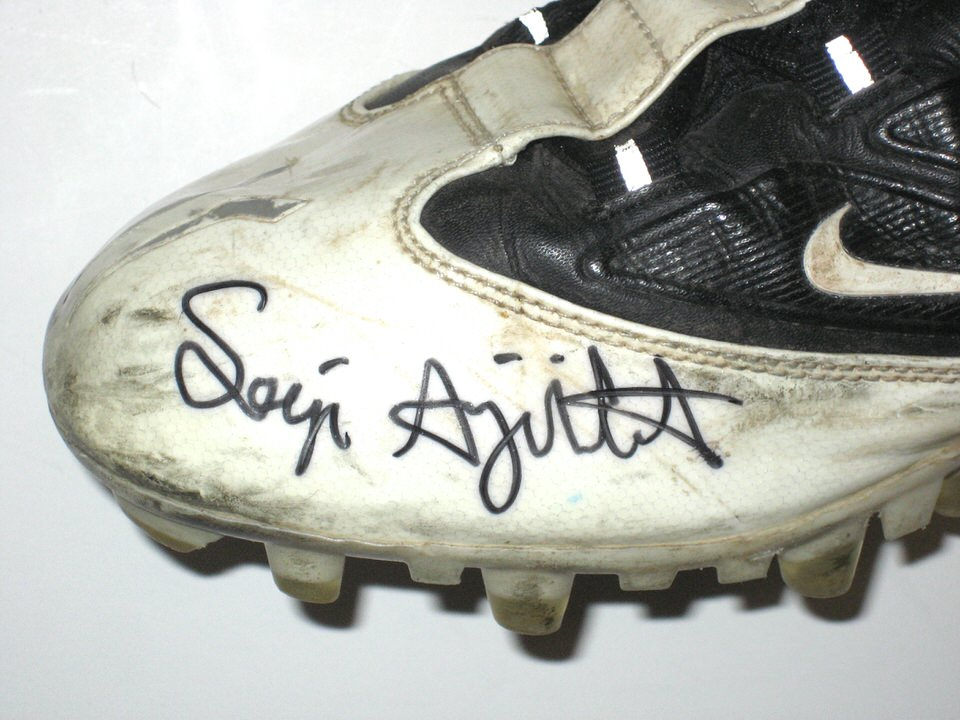 Seyi Ajirotutu Fresno State Bulldogs Game Worn Nike Cleats