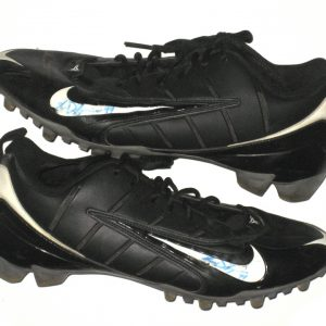 78810efb097 Ryan D Imperio Rutgers Scarlet Knights Game Worn and Signed Black   White  Nike Speed