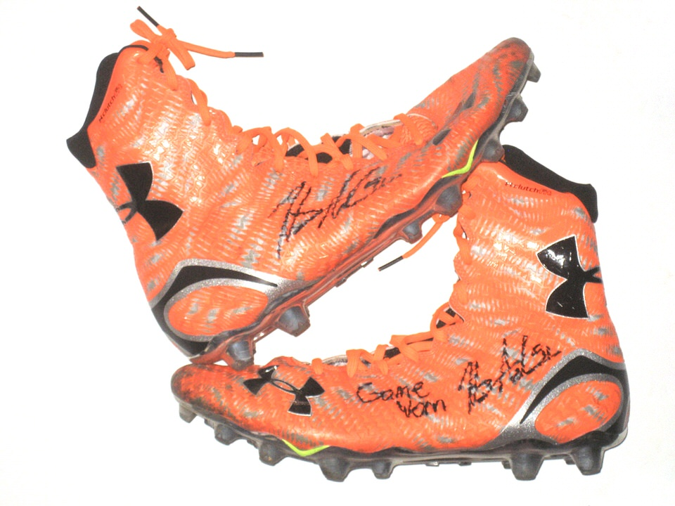 Henry Anderson Game Worn Senior Bowl Cleats