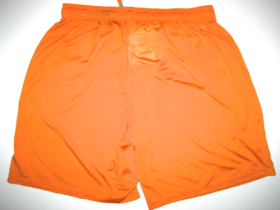 Nice AJ Francis Practice Worn Official Miami Dolphins #96 Shorts  hot sale
