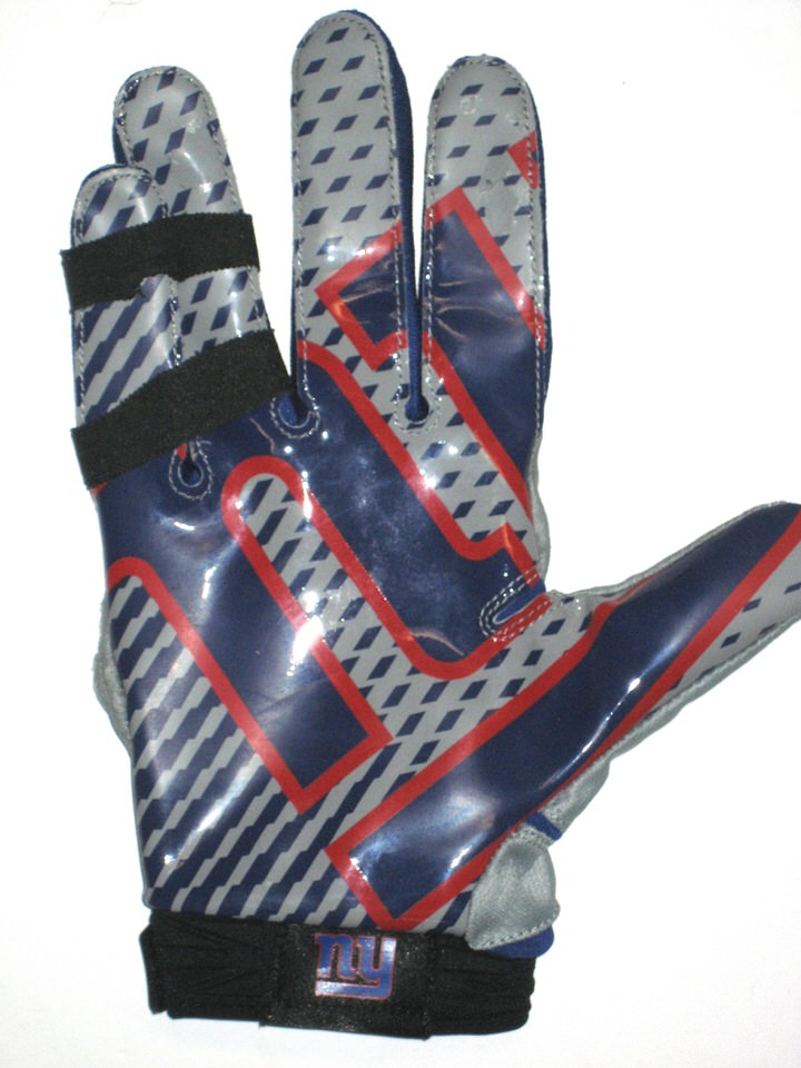 detailed pictures 7a380 2072b Jay Bromley Rookie Game Worn & Signed New York Giants Logo Nike Glove  (Single)