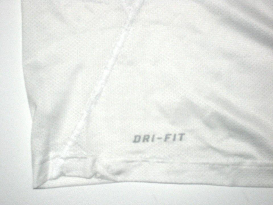 456fe50503e9 AJ Francis Game Worn Miami Dolphins  96 Nike 3XL Shirt ...