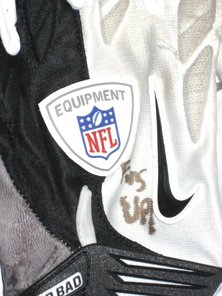 aj francis miami dolphins 2014 otas worn gloves