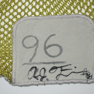 AJ Francis Maryland Terrapins #96 Signed Yellow Mesh Laundry Bag