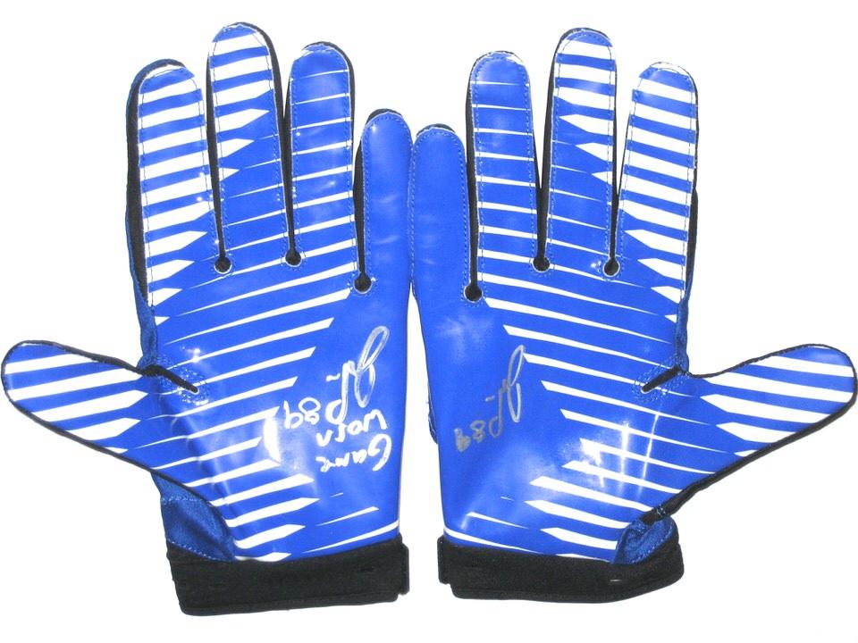 John Phillips Dallas Cowboys Game Worn Amp Signed Blue