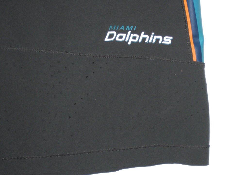 a5a847d50ef4 ... Francis Training Worn Miami Dolphins  96 Nike Speed Vent Performance  4XL Shorts AJ ...