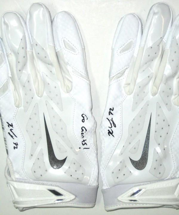 nike giants gloves