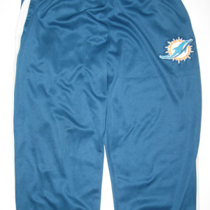 AJ Francis Player Issued Miami Dolphins #96 Nike Shield Nailhead Therma-Fit Training Pants