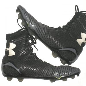 Adam Fuehne Southern Illinois Salukis Game Worn & Signed Under Armour Cleats