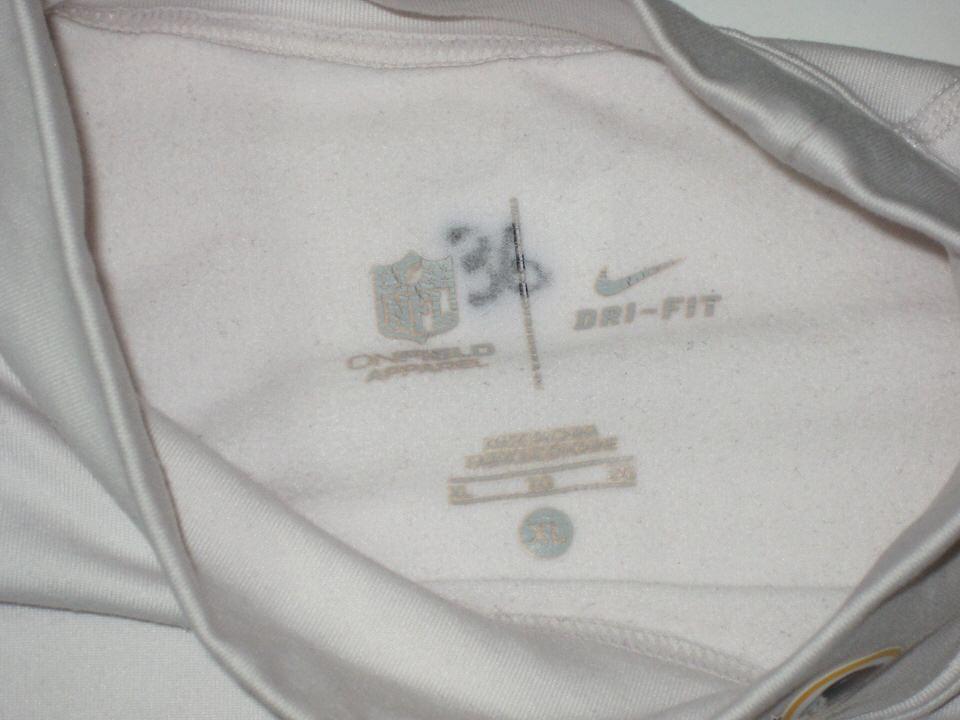 e6a0d6a2 ... Darrel Young Game Worn & Signed Washington Redskins Nike Dri-Fit  Turtleneck ...