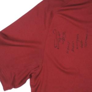 260228e1c Darrel Young Signed Washington Redskins Nike Dri-Fit XL Polo Shirt - Worn  to Ryan