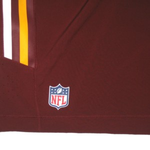 0d231f0d9 Darrel Young Training Worn   Autographed Official Washington Redskins Nike  Speed Vent Performance Dri-FIT