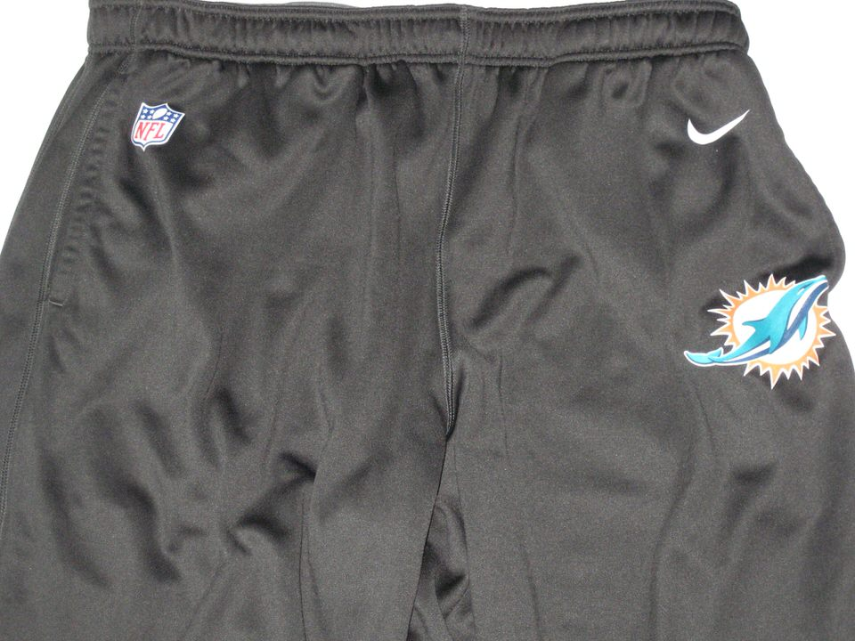 cheap sale wholesale outlet clearance sale AJ Francis Player Issued Gray Miami Dolphins #96 Nike Therma-FIT 4XL  Sweatpants