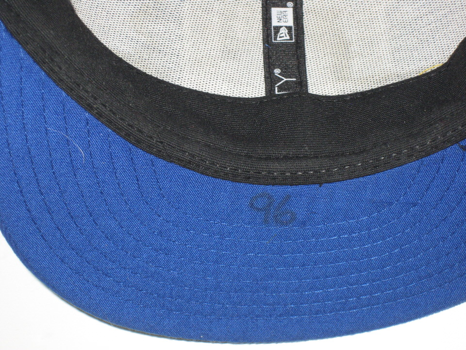 online retailer cae11 8fbe4 ... Bromley Sideline Worn   Signed New York Giants New Era 59Fifty Hat Jay  ...