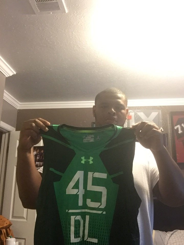 best website 8ce00 09a8e Deon Simon Official 2015 NFL Combine Worn & Signed Authentic Under Armour  Compression 3XL Sleeveless