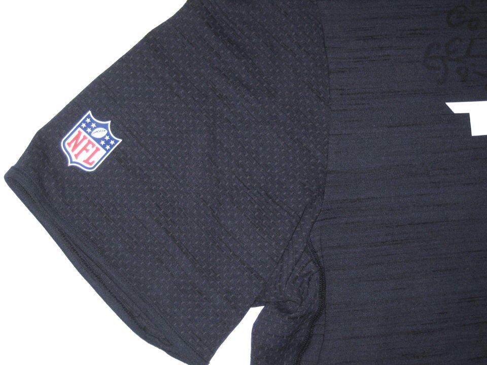 fa583868 ... CJ Fiedorowicz 2016 Training Worn & Signed Houston Texans Nike Dri-Fit  XL Shirt ...