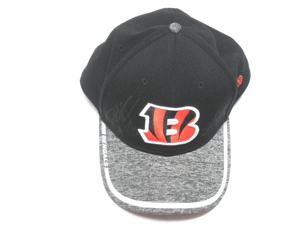 best website dbbda 2e537 Darien Harris Official 2016 Training Camp Worn   Signed Cincinnati Bengals  New Era 39THIRTY Hat - Big Dawg Possessions
