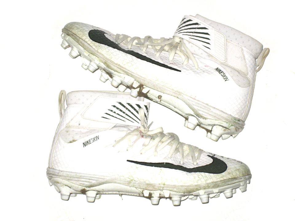 buy online 7f374 57897 Deon Simon New York Jets Game Worn & Signed Color Rush Game Nike Lunarbeast  Elite TD Cleats – Worn Vs Buffalo Bills on September 15th, 2016!