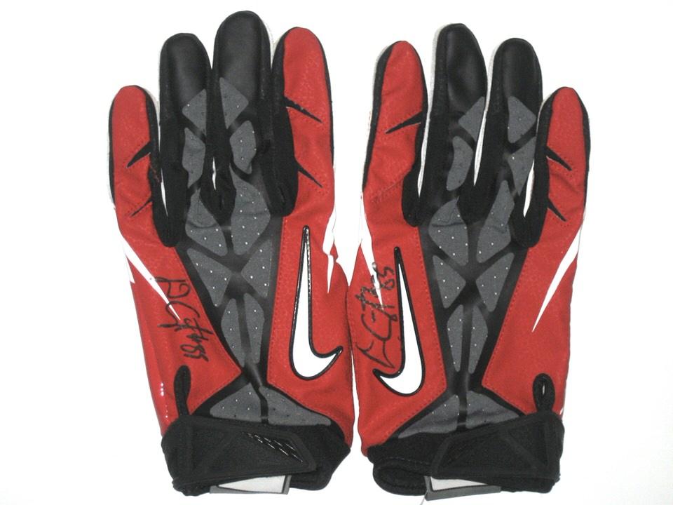 Signed Nike Vapor Jet 3XL Gloves