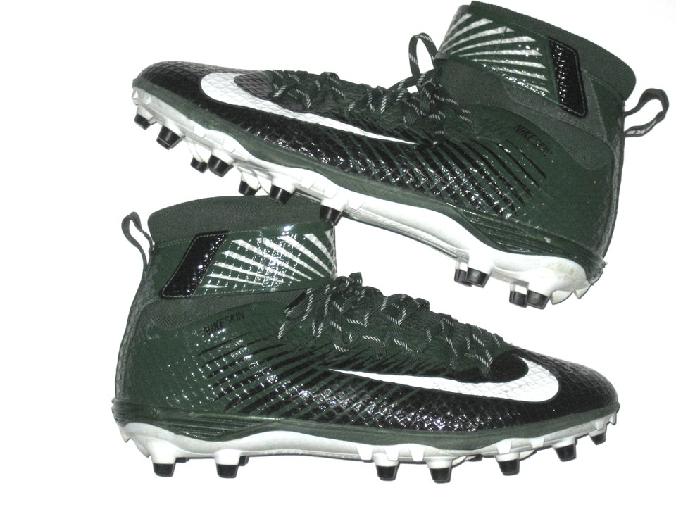 Collar insalubre Cava  Deon Simon New York Jets Game Worn & Signed Green & Black Nike Lunarbeast  Elite TD Cleats - Worn for 1st NFL Sack Against the Buffalo Bills! - Big  Dawg Possessions