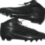 David Morgan Minnesota Vikings Rookie Game Issued & Signed All-Black Adidas Cleats