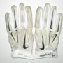 Michael Wilhoite 2015 San Francisco 49ers Game Worn & Signed White & Silver Nike Superbad XL Gloves