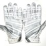 Darrel Young Washington Redskins Game Worn & Signed White & Silver Nike Superbad XL Gloves