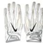 Deon Simon 2016 New York Jets Game Used & Signed White & Black Nike Superbad 4.0 Gloves