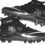 Frank Summers Buffalo Bills Game Worn & Autographed Black & Silver Nike Superbad Pro Cleats