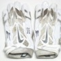 Orleans Darkwa New York Giants Game Used & Signed White & Silver Nike Vapor Jet Gloves