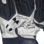 Storm Norton Toledo Rockets Game Worn & Signed Blue & Gray Under Armour Gloves - Great Use!!!