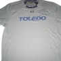 Storm Norton Training Worn & Signed Gray & Blue Toledo Rockets Under Armour Shirt