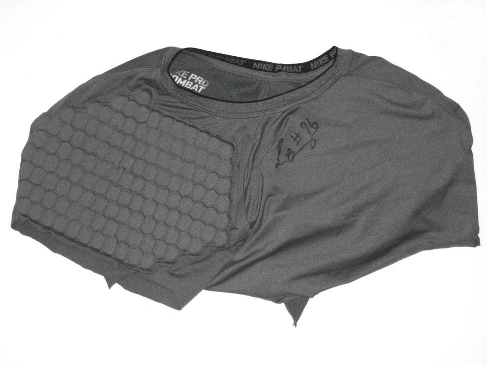 Nike pro combat Football padded compression shirt