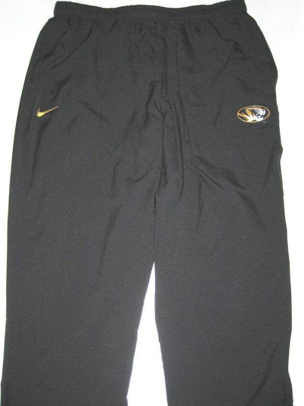 Josh Augusta Player Issued Official Missouri Tigers #97 Nike Dri-Fit Pants