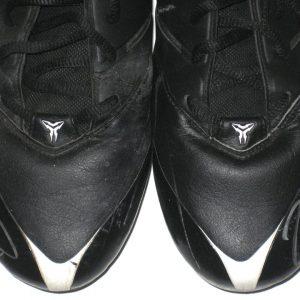 Onrea Jones Arizona Cardinals Game Worn & Signed Black & White Nike Speed Cleats