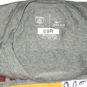AJ Francis Player Issued & Signed Washington Redskins #69 Long Sleeve Nike Dri-Fit Shirt