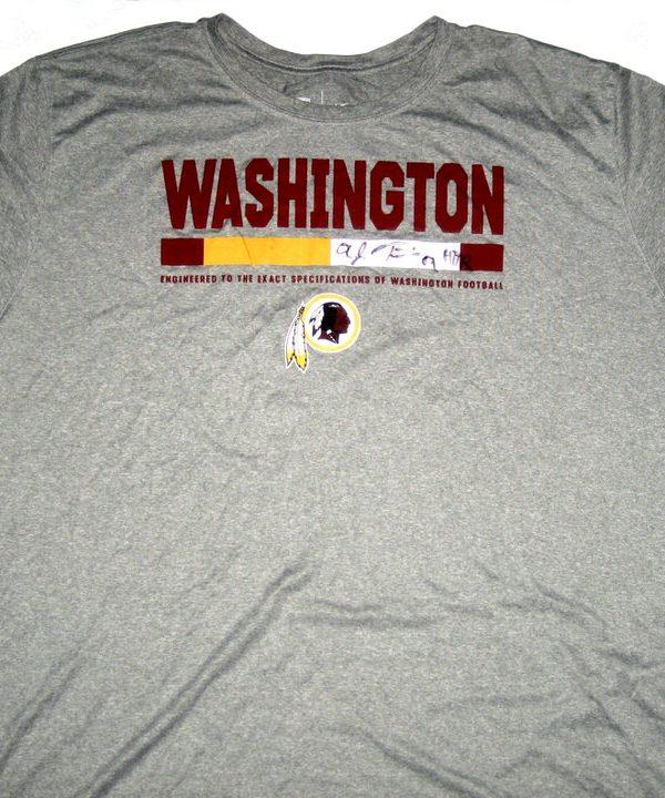 AJ Francis Player Issued   Signed Washington Redskins  69 Nike Dri-Fit 3XL  Shirt bb540c656