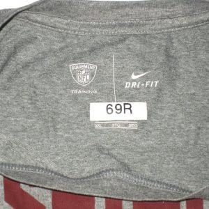 AJ Francis Player Issued & Autographed Washington Redskins #69 Nike Dri-Fit 3XL Shirt
