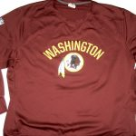 AJ Francis Player Issued & Signed Official Washington Redskins #69 Nike Therma-Fit Sweatshirt