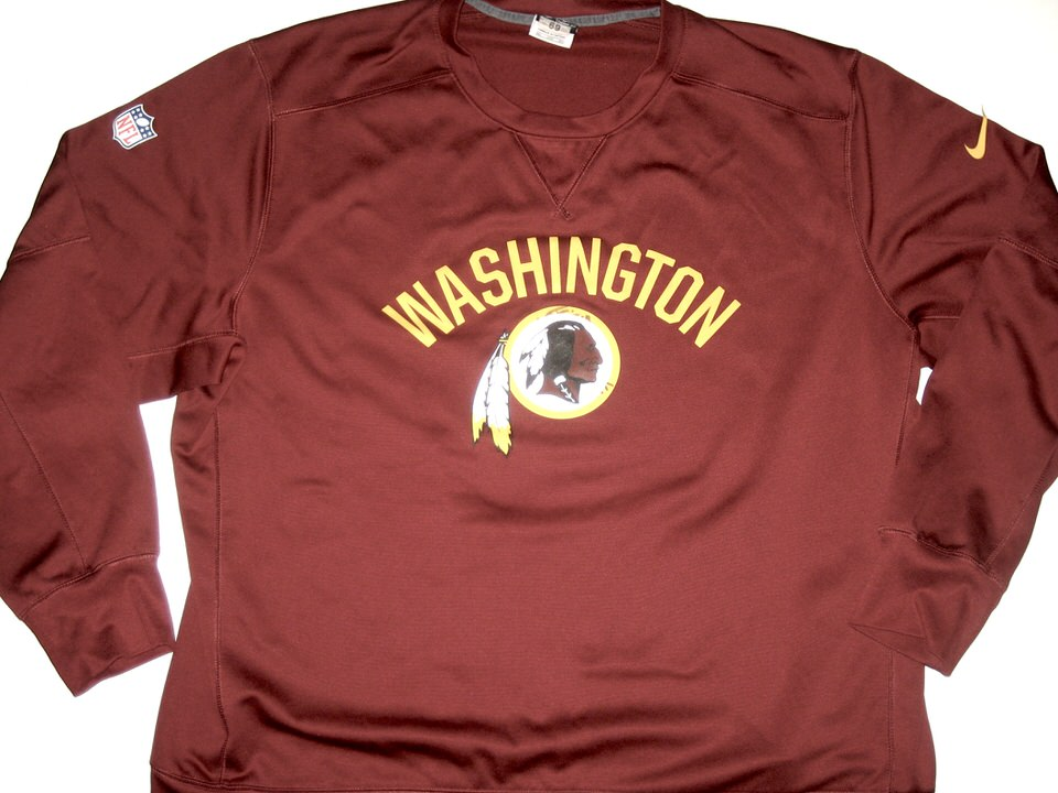 AJ Francis Player issued Official Washington Redskins #69 Nike 3XL Pullover Hoodie