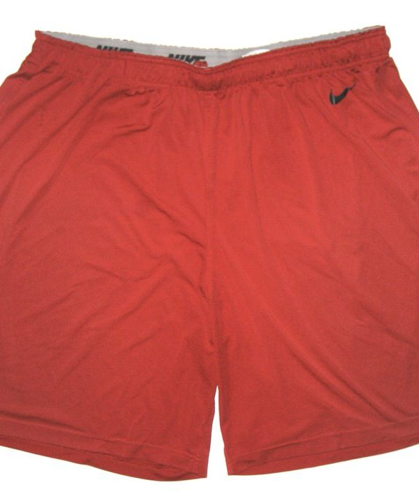Tony Jerod-Eddie Player Issued Official San Francisco 49ers #63 Nike Shorts