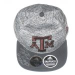 Tony Jerod-Eddie Pre-Owned & Signed Gray & Maroon Texas A&M Aggies Adjustable Snapback Adidas Cap